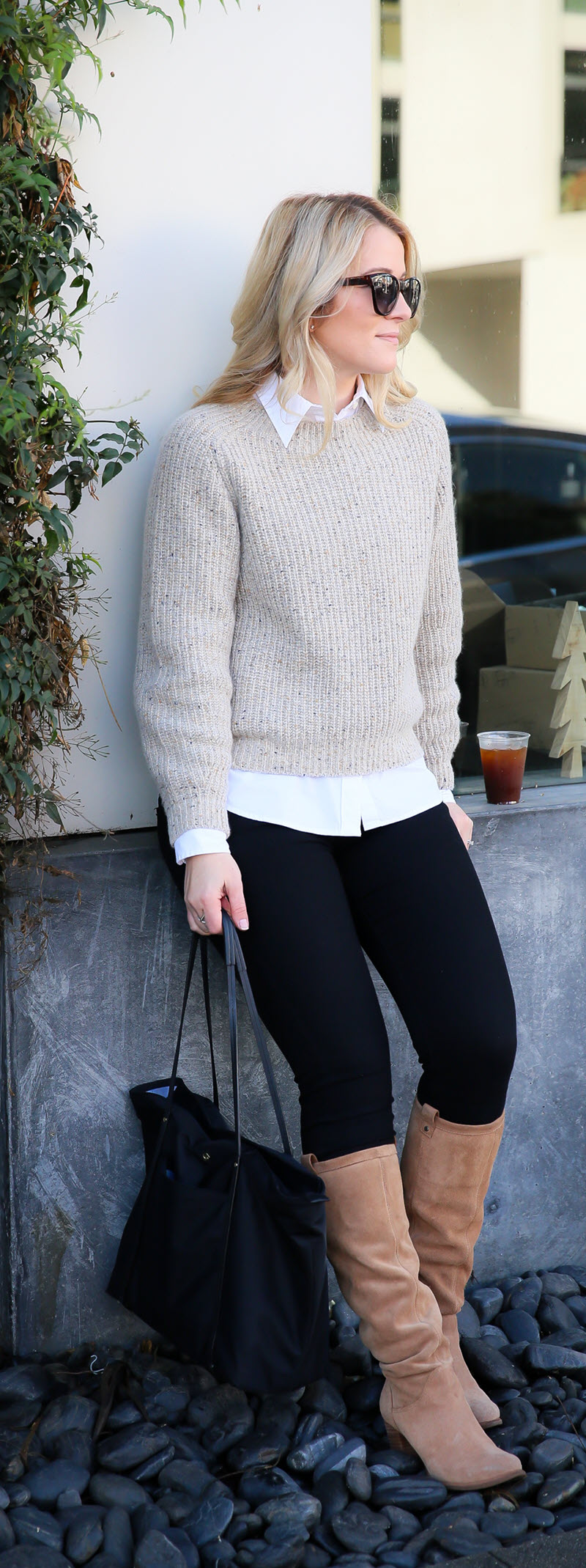 How to Layer Cashmere + Wool Sweaters #fashion #winterstyle #fashionstyle #style #fashionblog #fashionblogger #styleblog #womensfashion #womenover30 #abbotkinney #losangeles