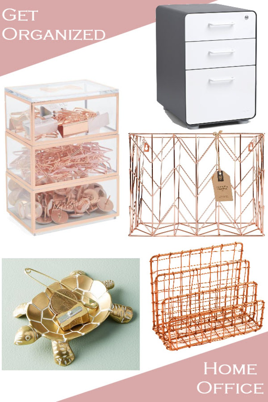 Chic Organization - Get Your Home Office Organized - Office Accessories