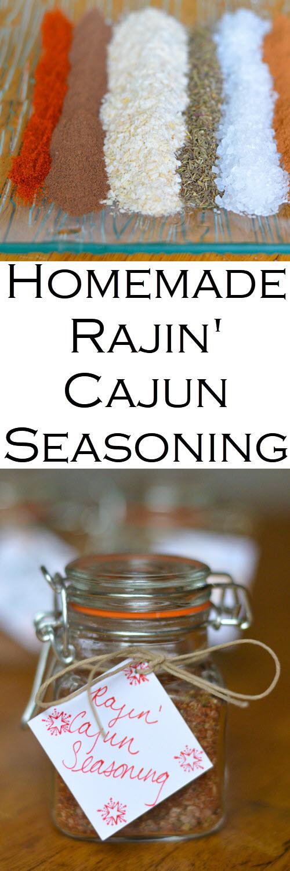 Homemade Spicy Rajin' Cajun Seasoning. Homemade spice mix seasoning recipes including Caribbean jerk Seasoning. Great in grilled chicken or vegetable recipes. #christmasgifts #christmasgift #seasonings #spicemixes #diygift #diyholidays #diyholidaygift #homemadegift #homemadegifts #giftguide #homesteading #holidays #LMrecipes