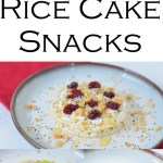 5 Rice Cake Ideas. Healthy snacks ideas with rice cake toppings ideas. Great snack and small meal ideas with rice cakes!