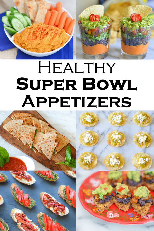 Healthy Game Day Appetizers. Healthy Game Day appetizers, sides, and finger foods.