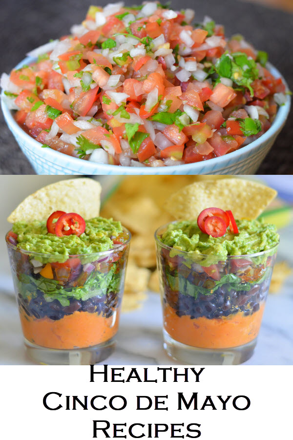 Homemade, Healthy Cinco de Mayo Recipes for Everyone. Avocado dips, Mexican iced Coffee, and Healthy Fish Tacos.