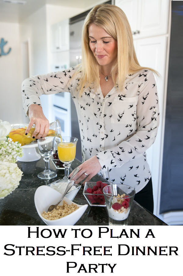 How to Plan a Stress-Free Dinner Party. These step-by-step tips for hosting include make-ahead recipes for dinner parties that everyone will love. Easy dinner parties and entertaining have never been more fun!