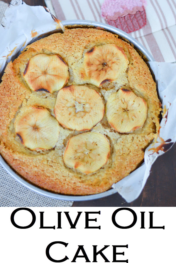 Olive Oil Cake. The Best Olive Oil Cake Recipe. This apple cake is moist and easy - a fun fall dessert that everyone will love. Apple slices make this cake look perfect for any dinner table.