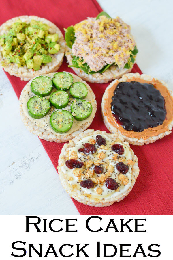 Rice Cake Snack Ideas. Healthy snacks ideas with rice cake toppings ideas. Great snack and small meal ideas with rice cakes!