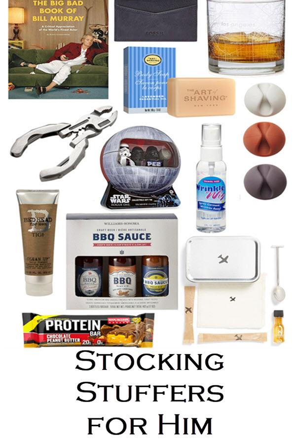 Christmas Stocking Stuffers for Him - Christmas Holiday Gift Guide for Men