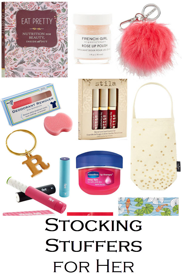 Christmas Stocking Stuffers for Her - Christmas Holiday Gift Guide for Women