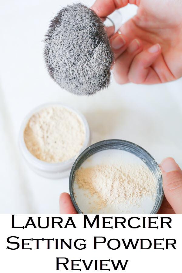 How to Get long Lasting Makeup. Laura Mercier Setting Powder Review.