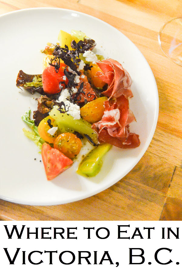 Where to Eat in Victoria, B.C. - breakfast, lunch, dinner, coffee, and high tea!! A British Columbia travel guide to Victoria food scene.