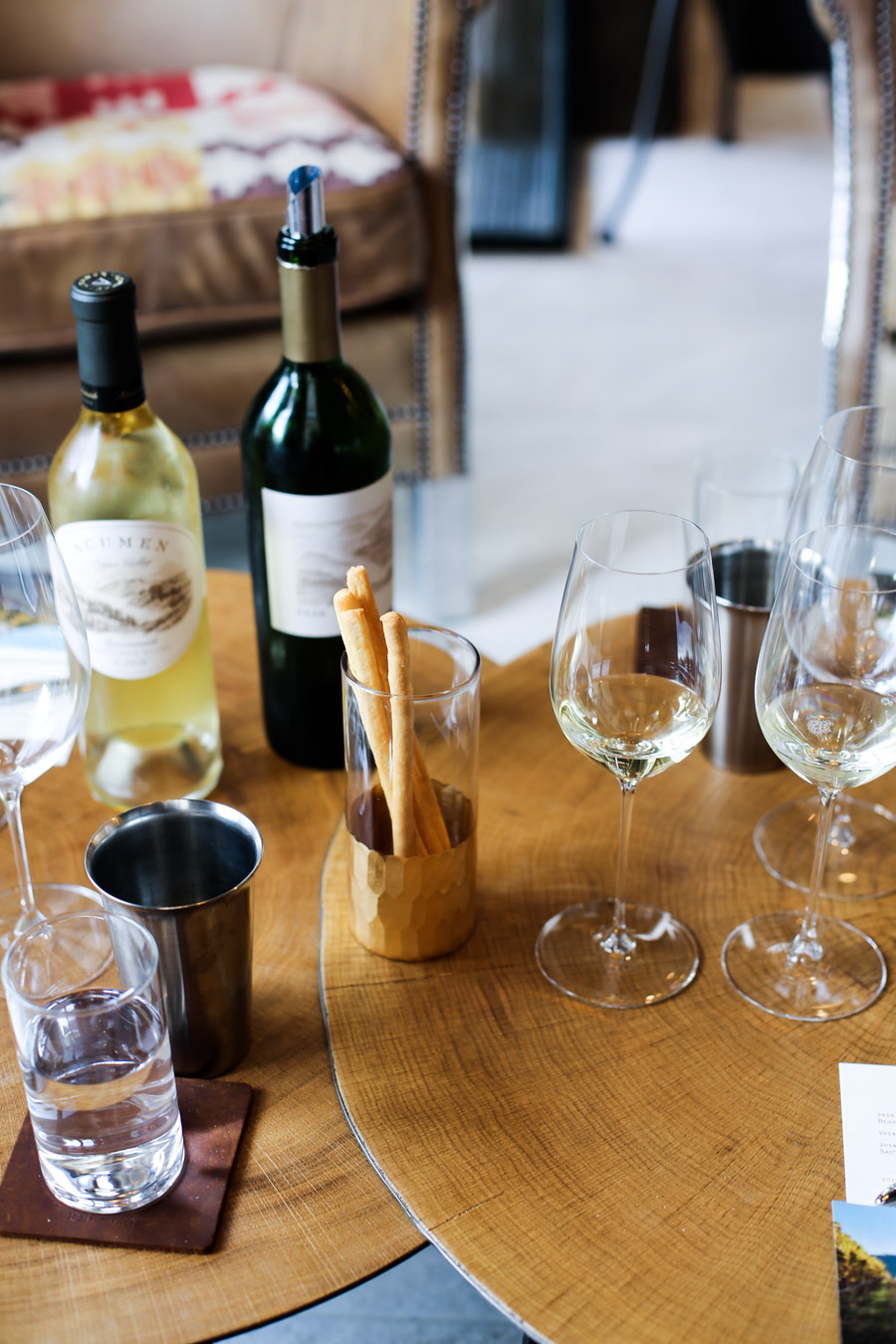 Downtown Napa Wineries - Acumen Tasting Room & Art Gallery