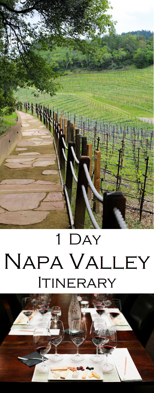 St. Helena Wineries - A Complete Itinerary of the Best Napa Valley Wine Tastings.