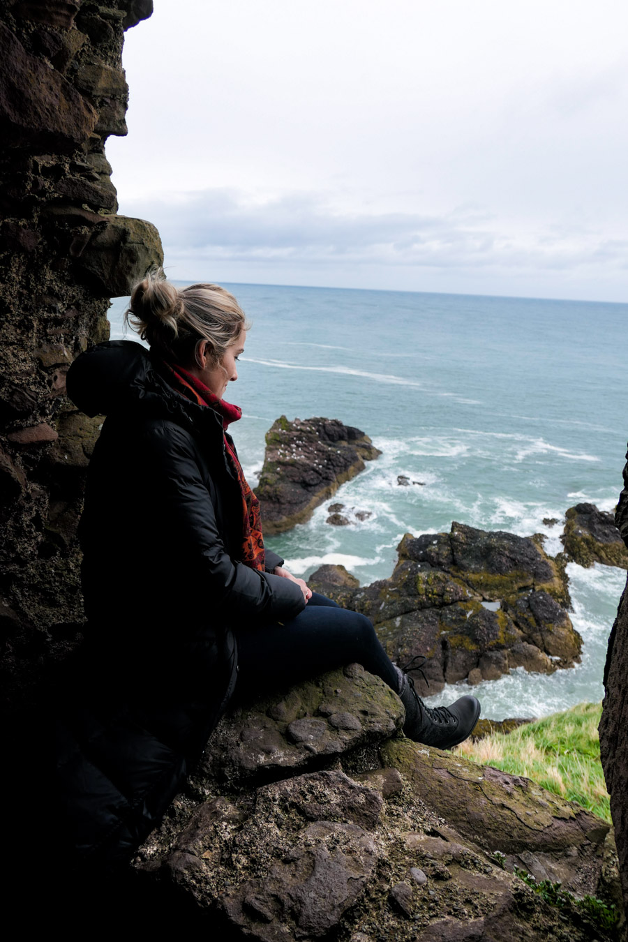 Scotland Palaces + Castles to Visit - Dunnottar Castle