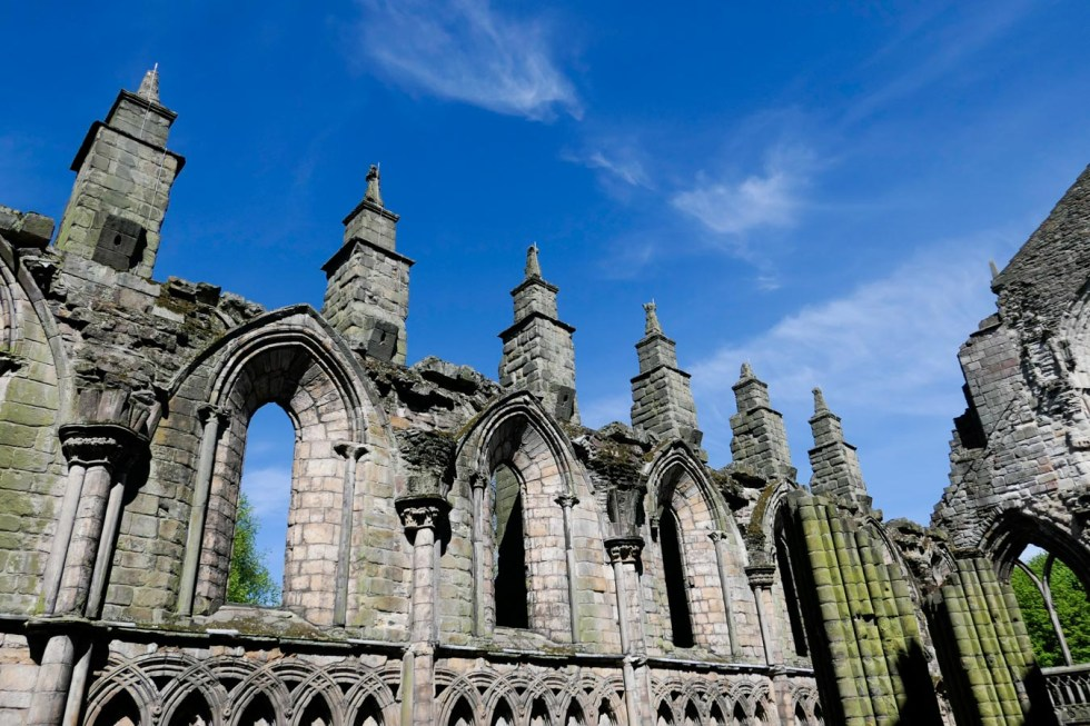 Scotland Palaces + Castles to Visit - Holyrood Palace