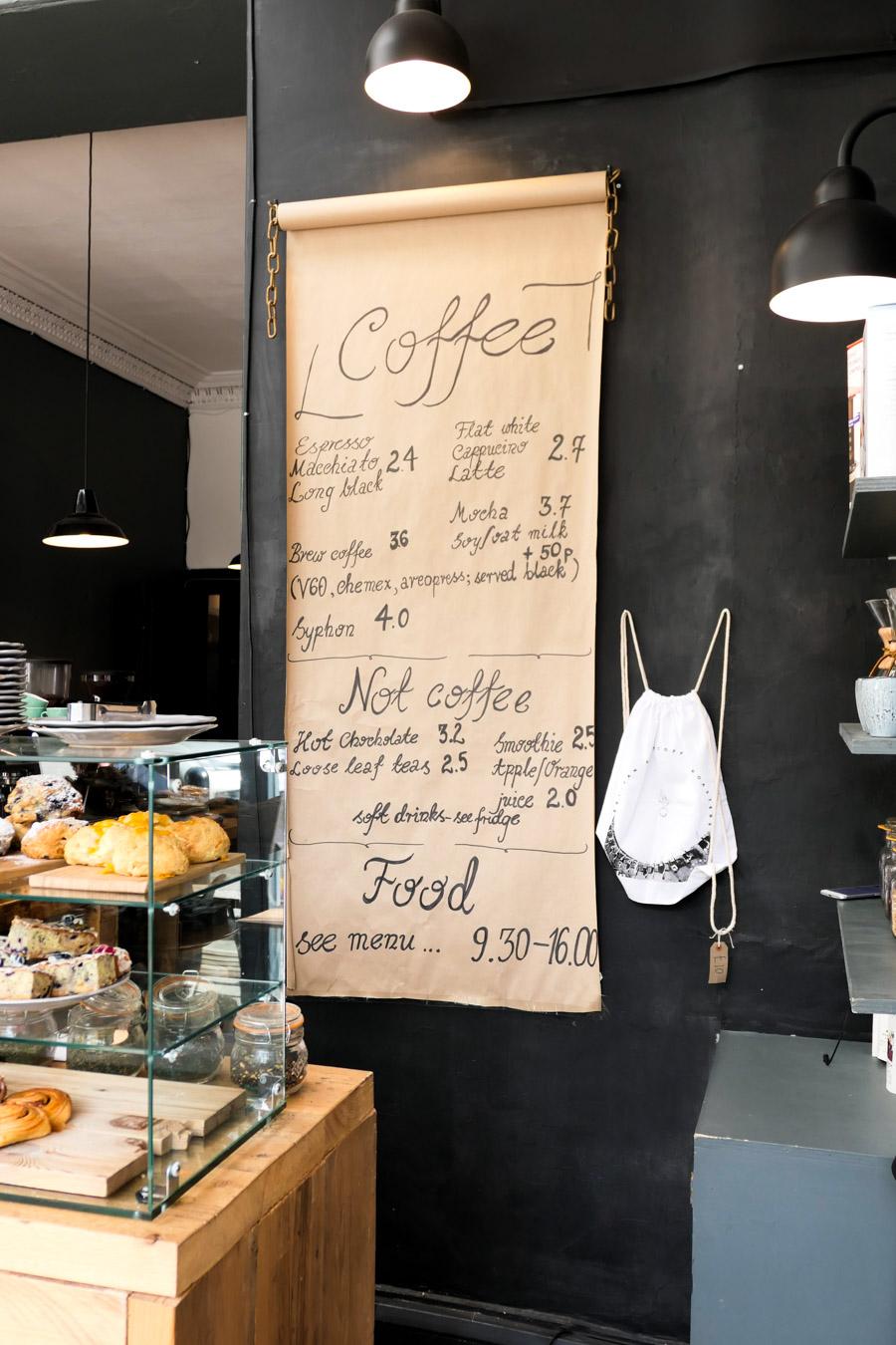 Best Stockbridge Edinburgh Restaurants Travel Guide - Artisan Coffee Roasters