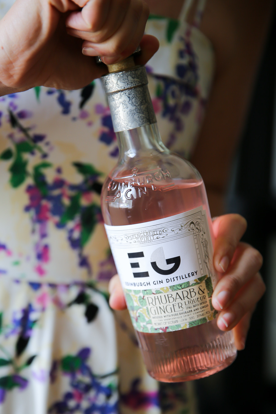 Edinburgh Gin Rhubarb Recipe - Whiskey Cocktails for Summer