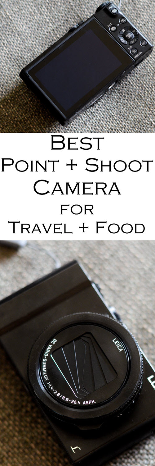 Best Point + Shoot Camera for Food, Travel, and Everything On the Go, including post-shot focusing and 4K video. #travel #youtube #youtuber #camera #traveltips #photographer #photography #panasonic #travelblog #foodblogger #foodphotography