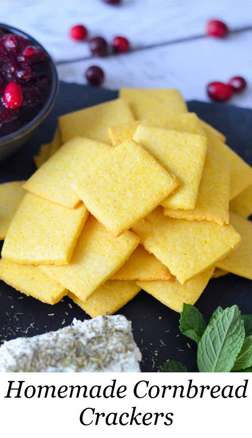 Easy Cornbread Crackers Recipe#LMrecipes #pumpkin #thanksgiving #christmas #holidayparty #holidaypartyfood #traderjoes #pumpkin #appetizers #homesteading #foodblog #foodblogger