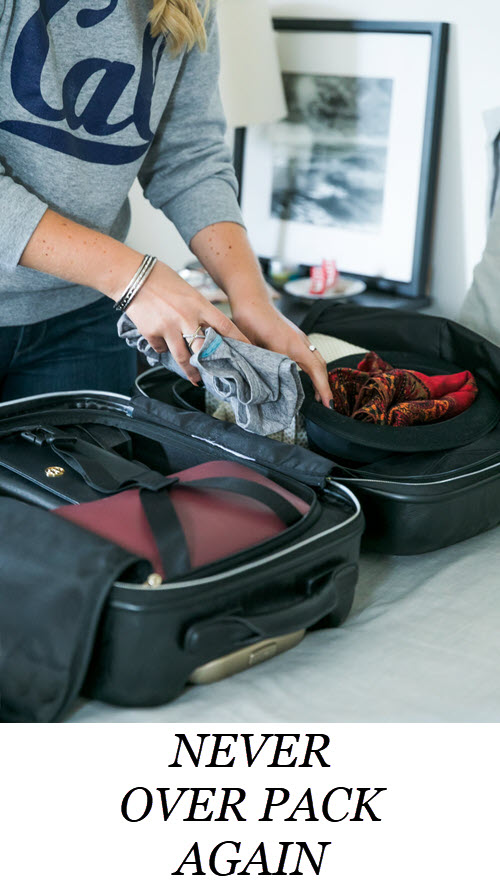 Carry On Travel Packing Tips - How Not to Over Pack a Carry On. Never Over Pack you Carry on #travel #traveltips #carryon #luggage #packing #travelblogger #weekendtrip