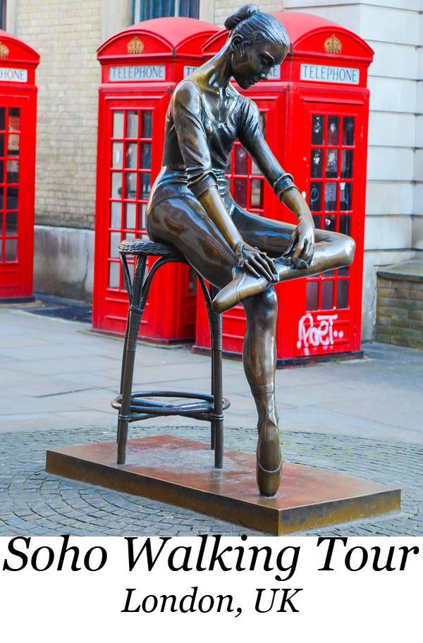 Soho Walking Tours in LondonAuthentic London Walking Tours in Soho + Covent Garden. Wondering what to do in London? Best Tour in London Travel Guide. #london #unitedkingdom #uk #england #ueorpeanvacation #travel #travelblogger #lpworldtravels #soho #travelguide