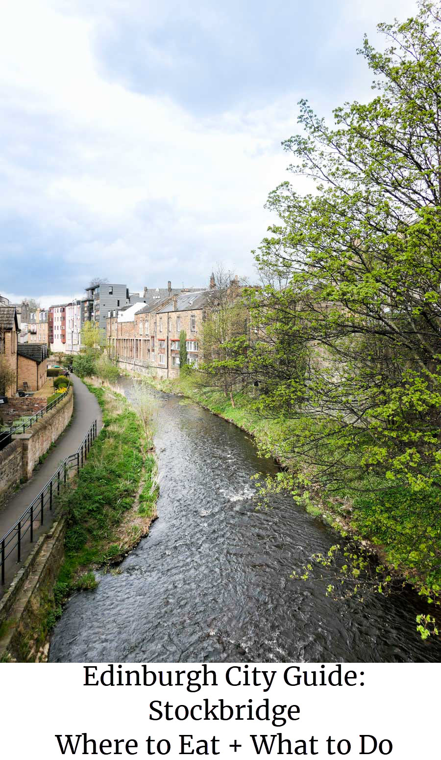 A guide to Stockbridge Edinburgh Restaurants + What to Do. Enjoy this small Edinburgh area with coffee and food recommendations as well as where to get a drink! #travel #scotland #edinburgh