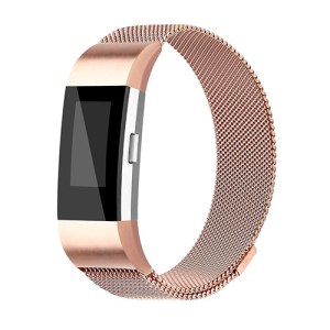 Rose Gold FitBit Band