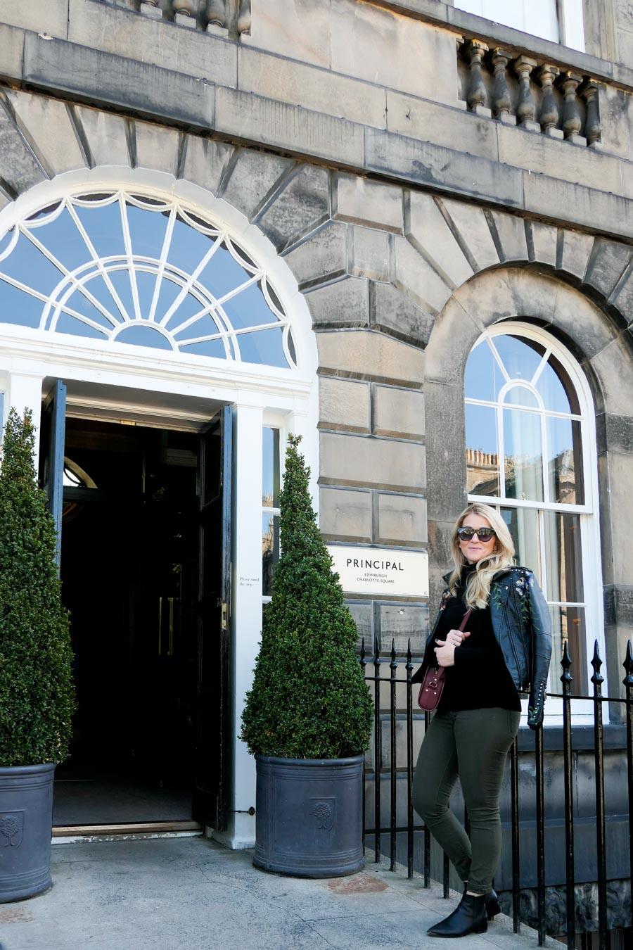 Where to Stay in Edinburgh - The Principal Edinburgh Review