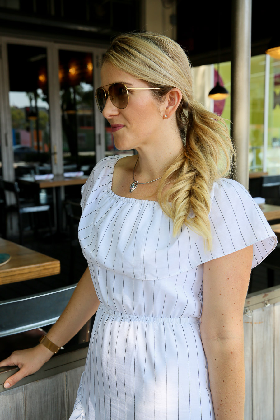 Casual Midi Dress Outfit