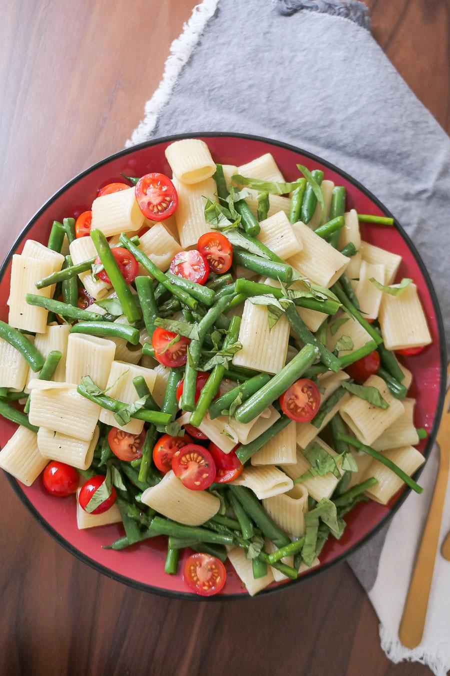One Pot Summer Vegetable Pasta