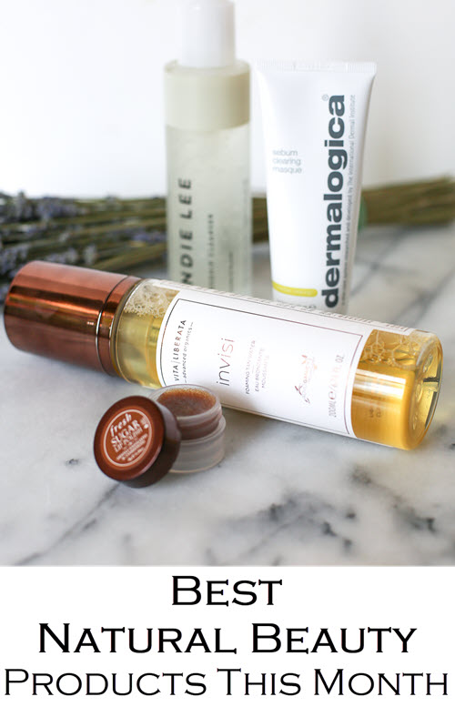 August 2018 Best Natural Skincare Products. Get the top beauty recommendation for natural beauty products. These skincare picks are great for your skin and great for all skin types. #bbloggers #beautyblog #greenbeauty #dermalogica #adultacne #cleanbeauty