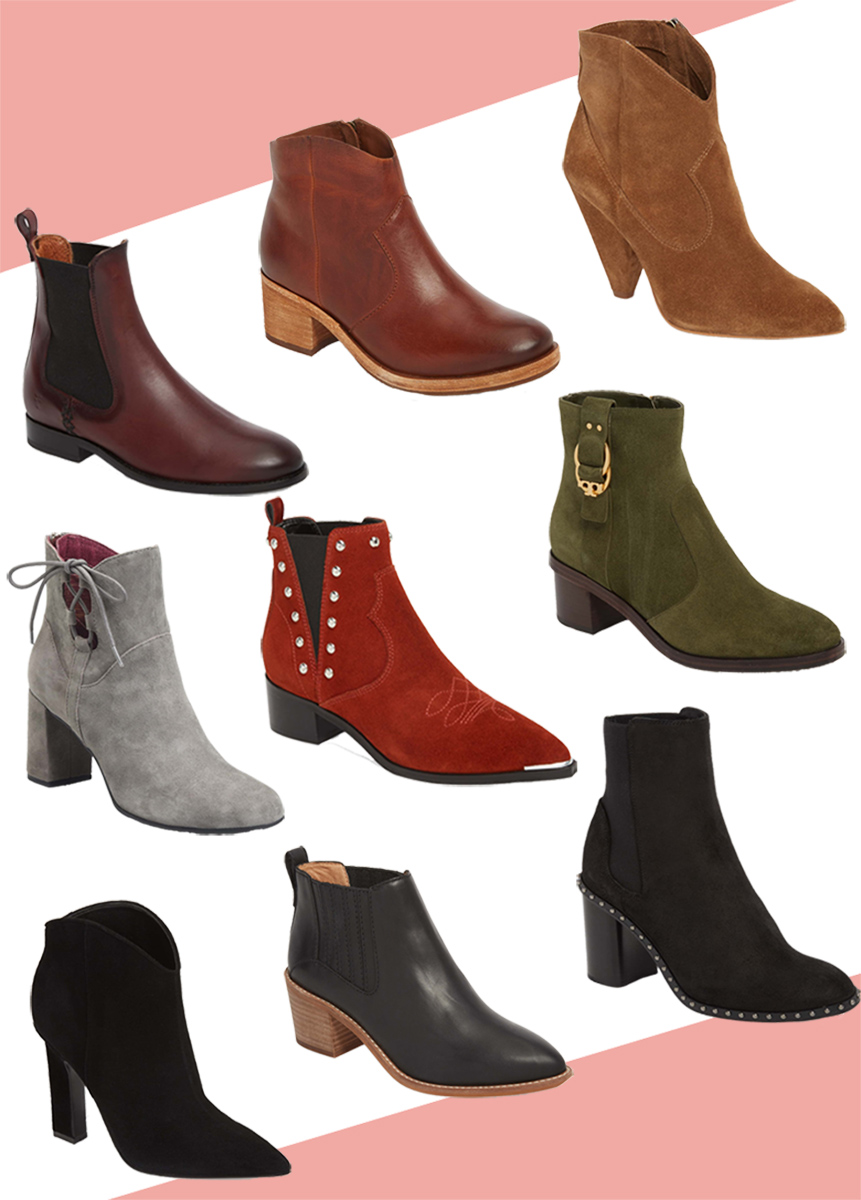 Fall 2018 Booties for women
