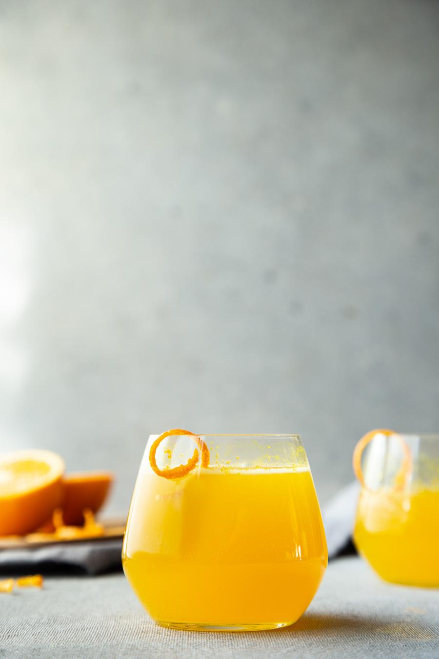 Turmeric Cocktail Recipe - Turmeric Orange Spritzer