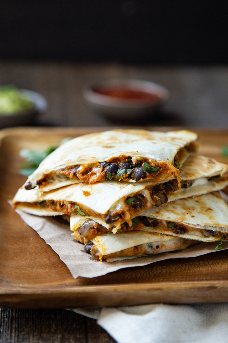 Pumpkin Quesadillas