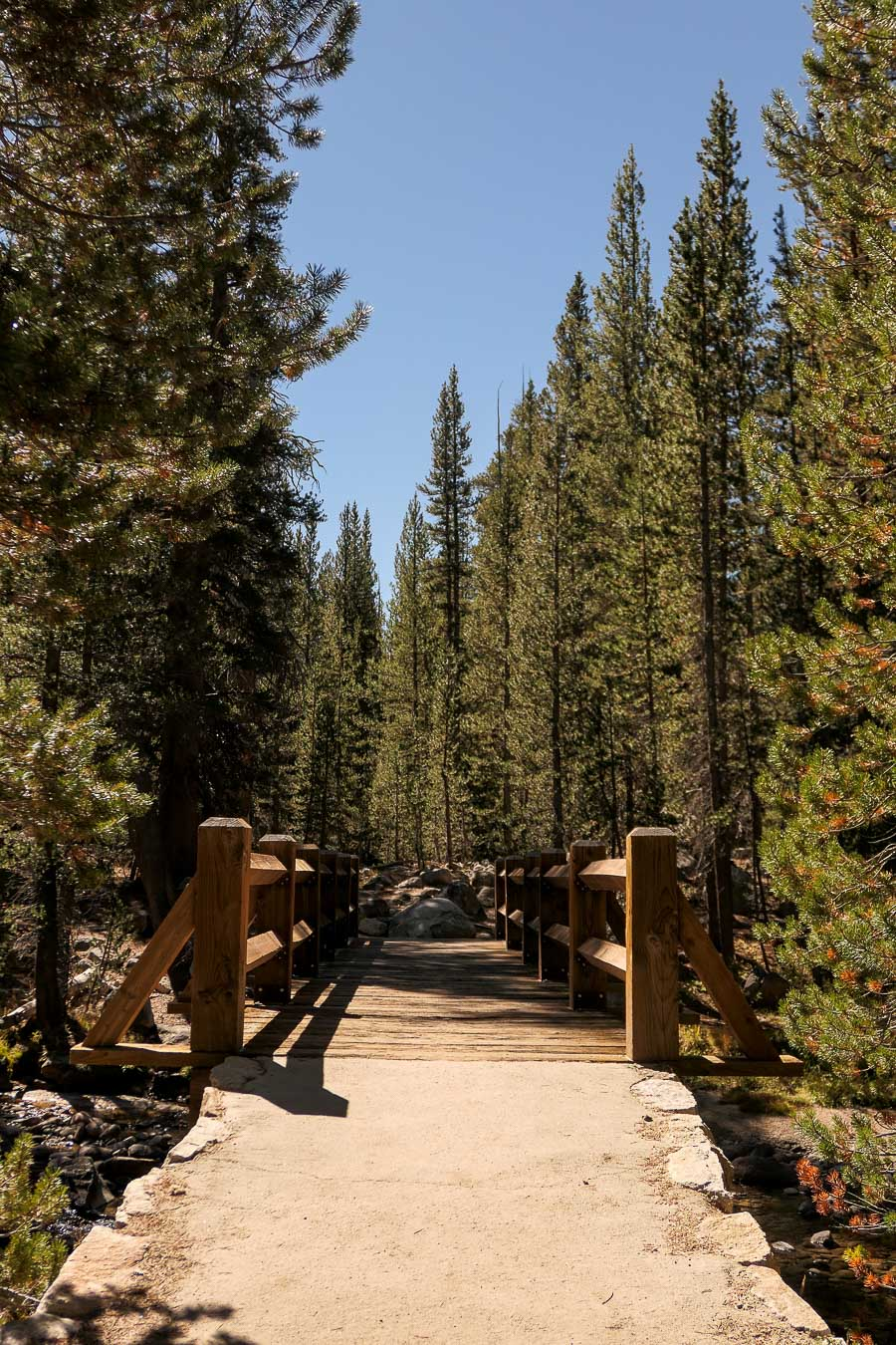 Yosemite in Fall Photos - Tuolumne - Twin Bridges