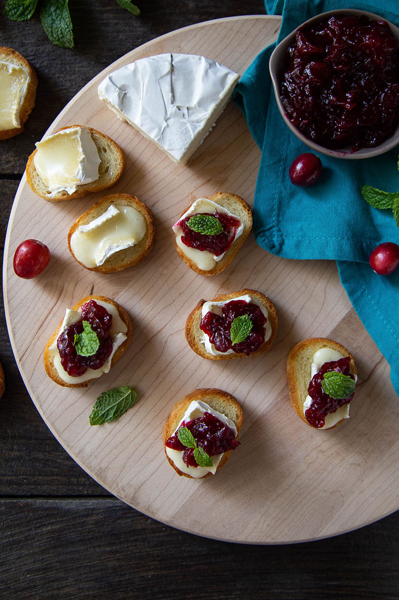 Brie Cranberry Appetizer