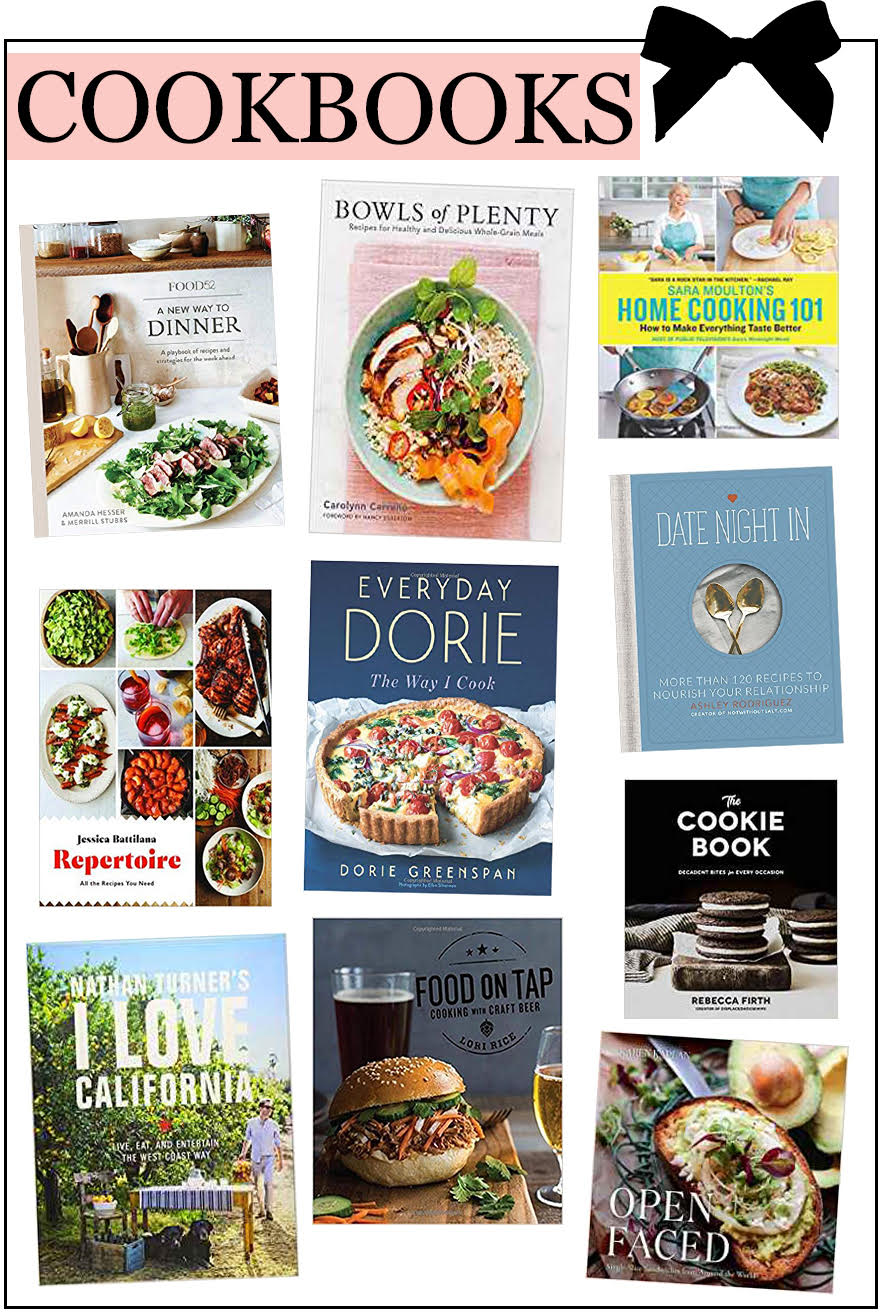 Book Gift Guide - Christmas 2018 - Cookbooks