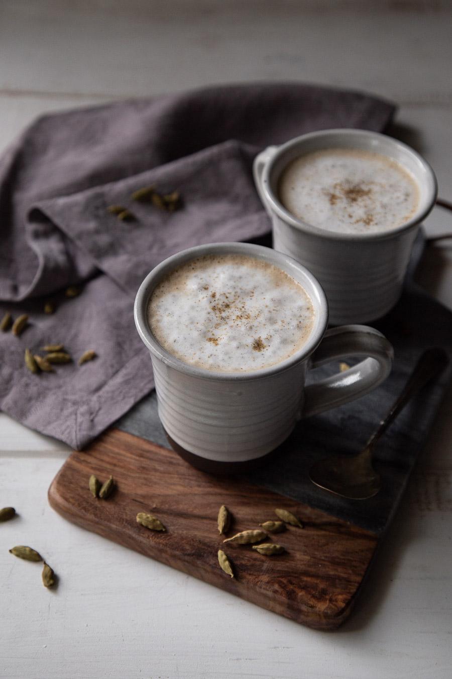 Homemade Cardamom Latte Recipe
