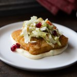 Fish Starter with Winter Slaw - Christmas Appetizer