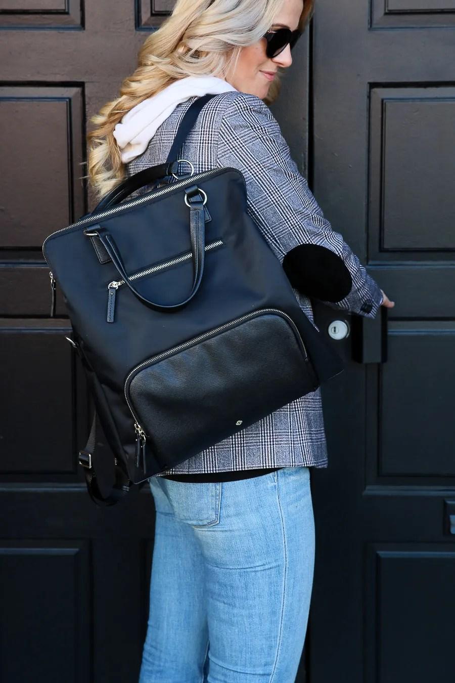 Samsonite Handbags Review - Encompass Convertible Backpack