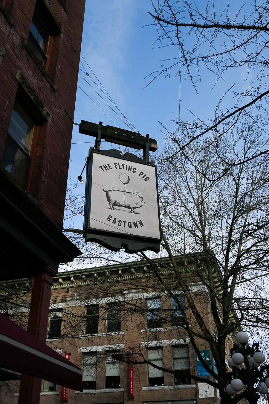 Must Visit Vancouver Restaurants and Coffee Shops Casual - Flying Pig Gastown