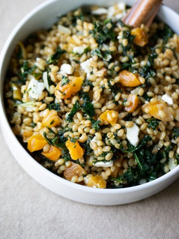 Kale Farro Salad Recipe