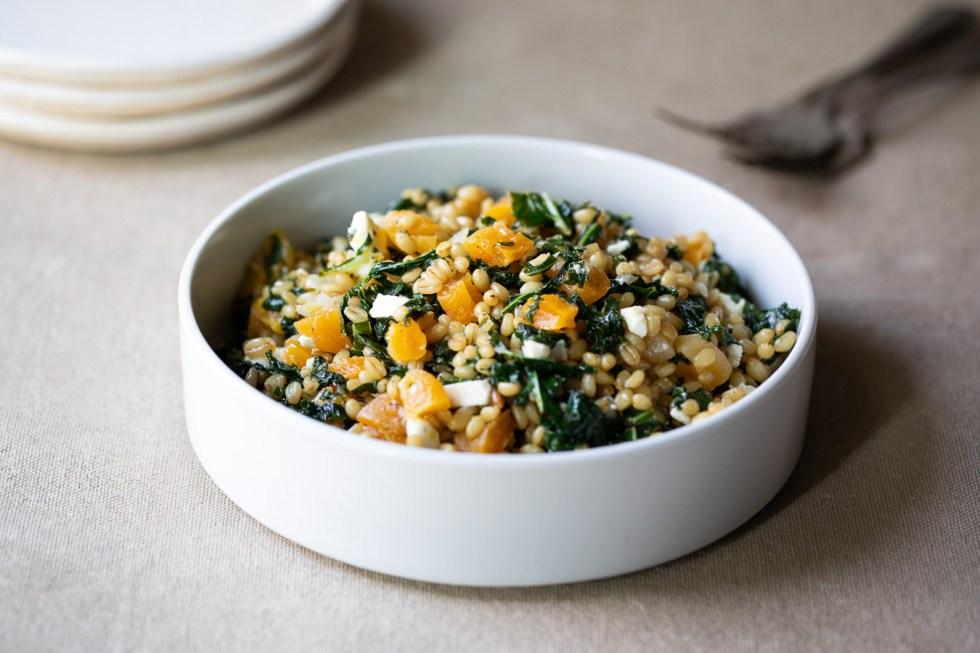 Kale Farro Salad Recipe