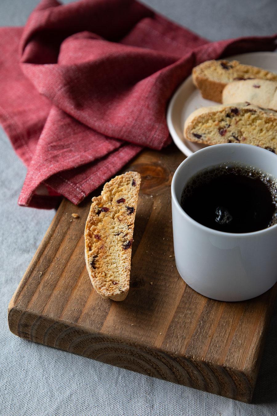 Cranberry Biscotti Recipe