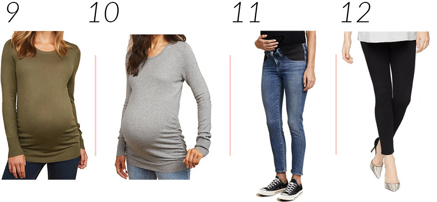 Second Trimester Clothes Capsule Collection