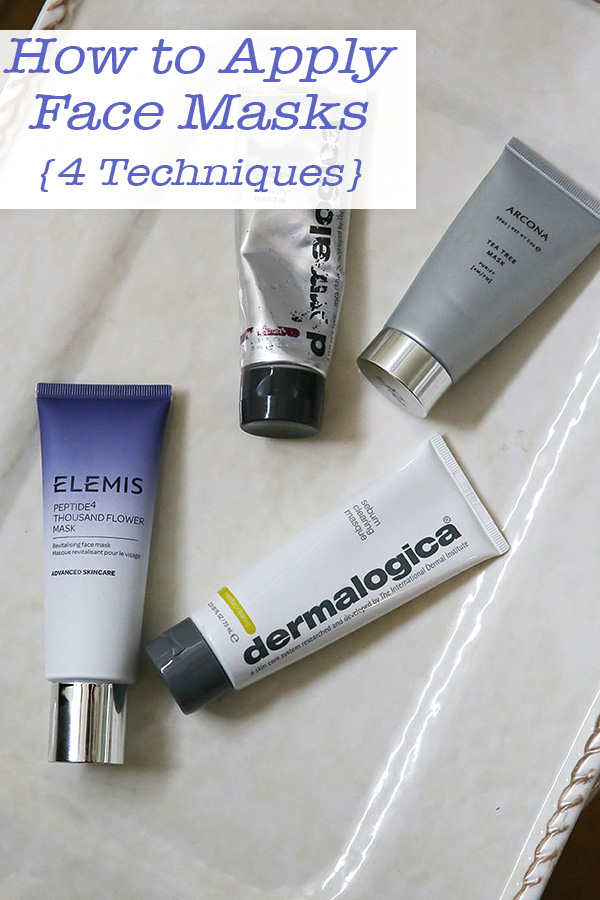 How to Apply a Face Mask - Multiple Masks. Wondering which mask to use today or if you can mix face masks. See four techniques to using face masks for better skin. #beauty #youtube #skincare #facemasks #dermalogica