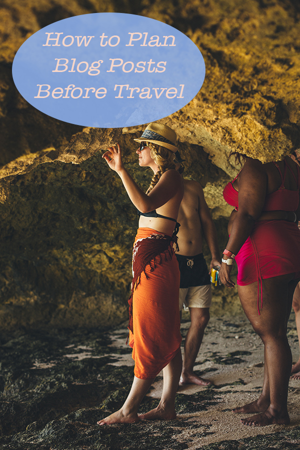 Planning Blog Before Travel. Get tips for travel blogging successfully and how to create content while you're away form home. #travel #travelblogger #travelblog #bloggingtips