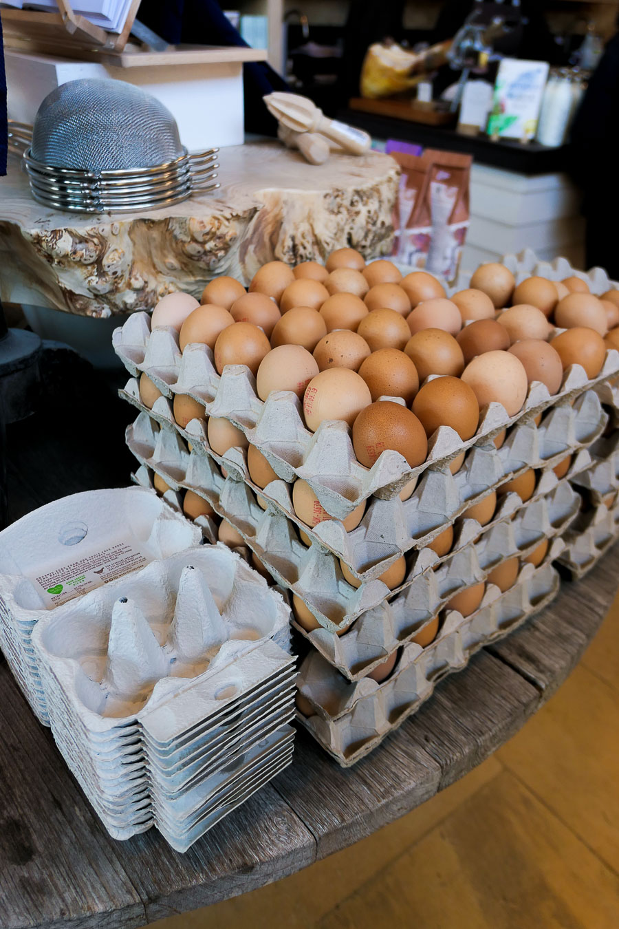 Daylesford Farm Shop + Restaurant - Gloucestershire - Organic Eggs