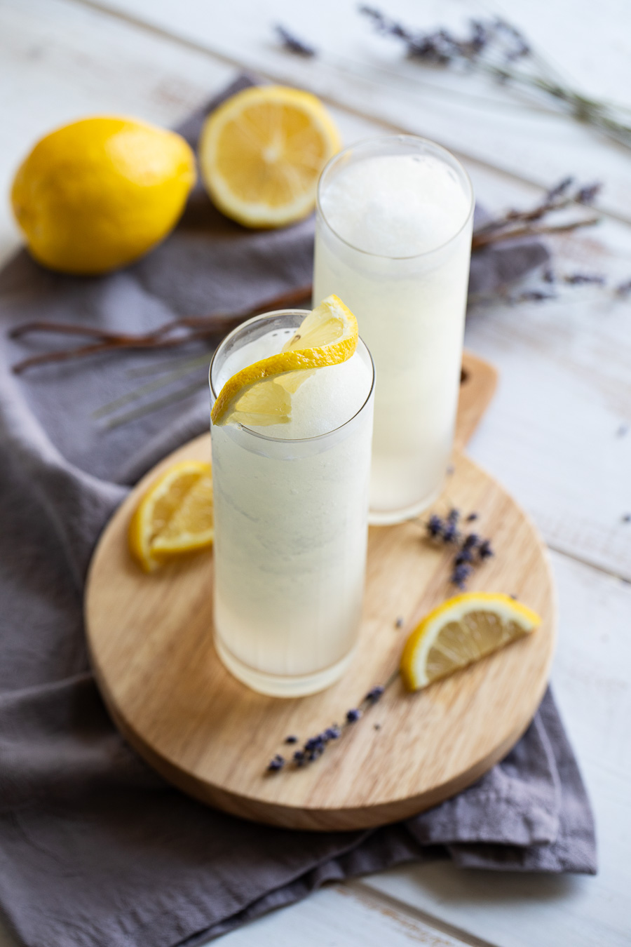 Frozen Lavender Lemonade Recipe