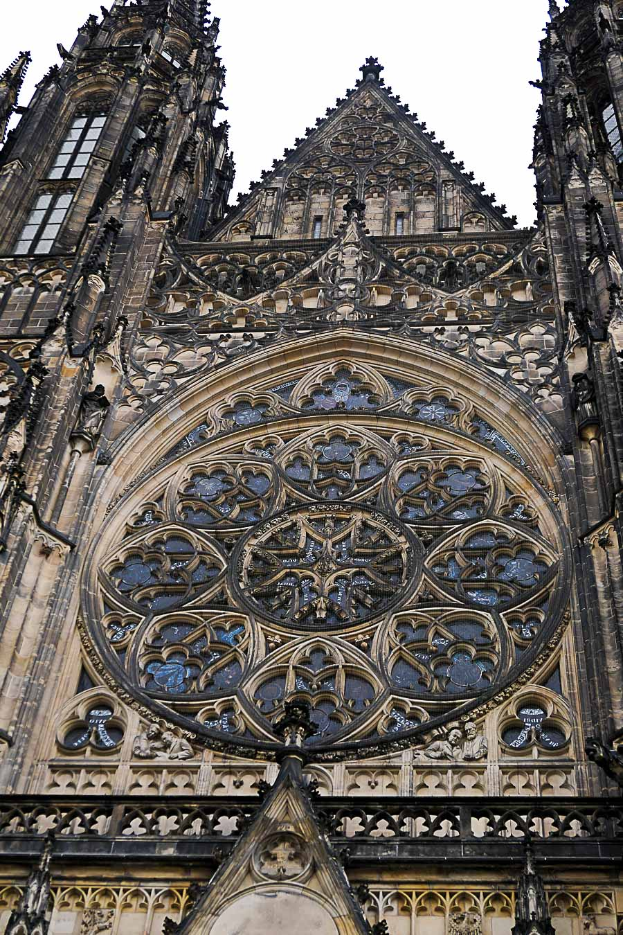 Prague Architecture Photos - St. Vitus Cathedral