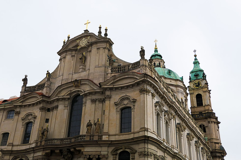 Prague Architecture Photos - St. Nicholaus