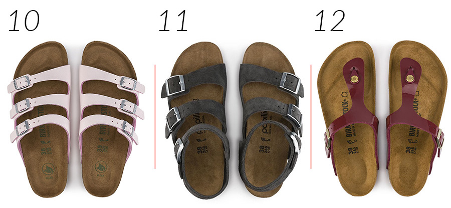 Best Birkenstocks for Summer